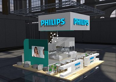 Philips Sonicare - Messestand Pragodent